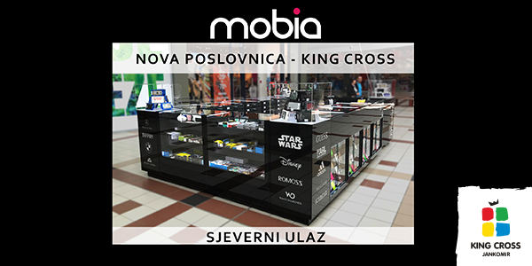 Mobia mobile accessories — novo u King Crossu